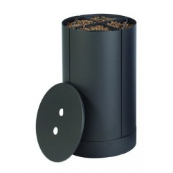 Legno di pellet Magasinier Fractio black Frost diciannove design