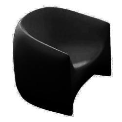 Vondom silla negro de golpe