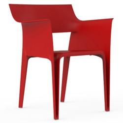 Pedrera sillón rojo de Vondom