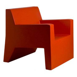 JUT sillón Butaca roja de Vondom
