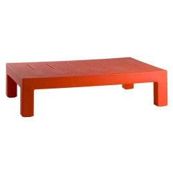 Jut Mesa 120 Table low Vondom Red