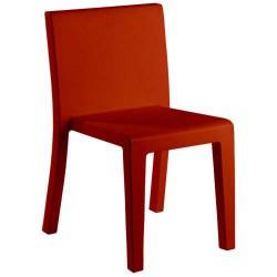 Jut Silla cadeira vermelha de empuxo