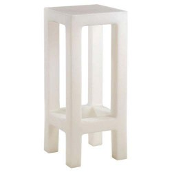 Jut Taburete stool top Vondom white