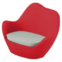 Sabinas armchair Vondom Red