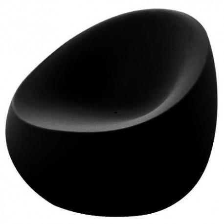 Stone armchair Vondom black