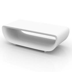 テーブル低い基本 Bumbum サラマーゴ財団ホワイト