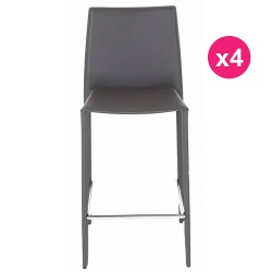 Set of 4 chairs Work Plan gray KosyForm