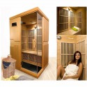 Sauna infrared Courchevel 2 seats VerySpas