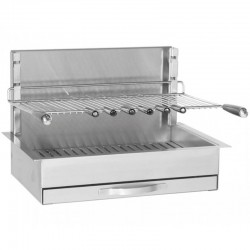 Gril Inox Encastrable Forge Adour 961-66 Dimension 66 x 45 x 46 cm