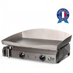 Plancha electric 2 resistance box and plate Inox Electica Tonio