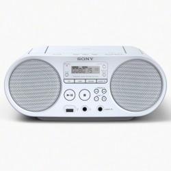 Radio Sony CD Lecteur MP3 Via Port USB Blanc