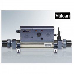 Vulcan heater analog titanium Mono 12kW pool above ground and buried