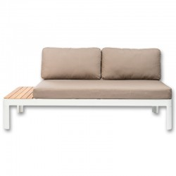 Garden KosyForm Design white aluminum Lounge Sofa couch