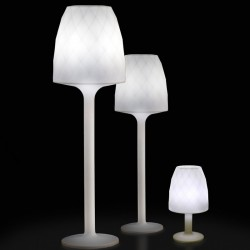 Lamp Design white H180 Vondom Vases