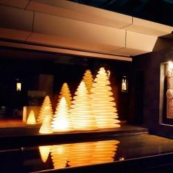 Sapin Chrismy Vondom Lumineux Led Sans Fil H200