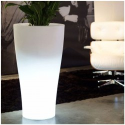 Curvada Vondom H100 LED white light pot
