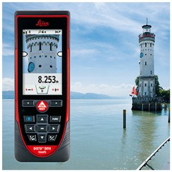 Tactile Leica Disto D810 Touch screen with Trotec Laser Rangefinder