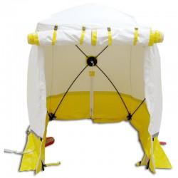 Tente Cubique de Chantier Trotec 300 KE Jaune 300 x 300 x 215