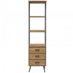 Furniture top 3 drawers in Metal and Pine Mountain High KosyForm