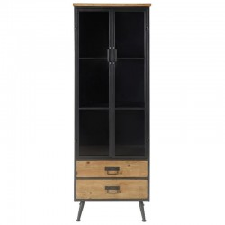 Furniture top in Metal black and Highly KosyForm solid pine