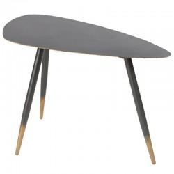 Table Basse Design en Métal Noir 80 Ricci KosyForm