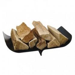 Albatros black wood storage frosted Dixneuf Design