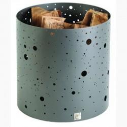 Wood storage see Milky gray steel Dixneuf Design