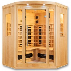 Infrared sauna Orwen Club 4 places VerySpas