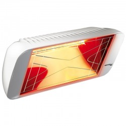 Infrarot-Heliosa Hi Design 66 weißen Carrara 1500W IPX5 Heizung