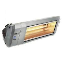 Chauffage Electrique Infrarouge HELIOSA Modèle 9-2 Silver - 4000 W IPX5 Bluetooth