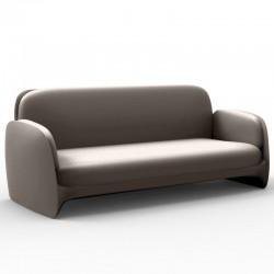 Sofá de sofá Vondom Pezzettina taupe Mat