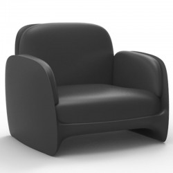 扶手椅冯多姆休息室佩泽蒂娜无烟煤