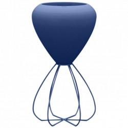 Vaso spaghetti fioriera Basic VONDOM blu
