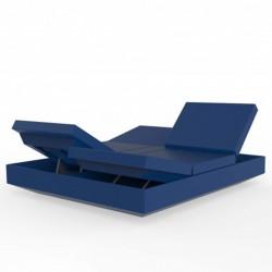 Sdraio vela daybed reclinabile VONDOM blu navy