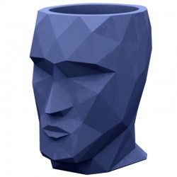 Pot Adan Vondom mittelblaues Modell