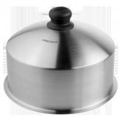 Inox Cooking Bell Lid for Plancha Forge Adour