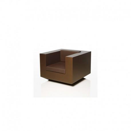 Fauteuil Lounge Vondom Vela Bronze