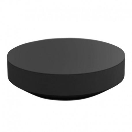 Table Basse Vondom Design Vela Ronde Anthracite