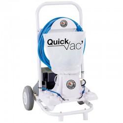 Robot aspirateur de piscine Quick Vac Classic avec batterie