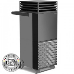 High-frequency TAC V air purifier Trotec Grey basalt-black