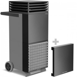 TAC V-Trotec Black Basalt Grey Air Purifier with Soundproofing Capot