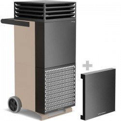 TAC V-Bronze-Black Air Purifier with Soundproofing Capot