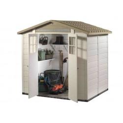 EVO 240 resin garden shelter of 4.90m2