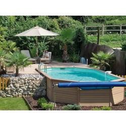 Zodiac Azteck Oval Pool Offs ground 400 x 890