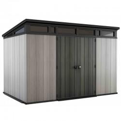 Brossium Monossium resin shelter 7.4m² Keter with floor