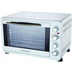 Countertop Oven 52 L White and Brown MF63