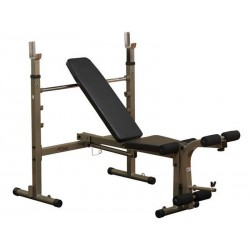 Best Fitness BFOB10 folding Olympic Home weight bench