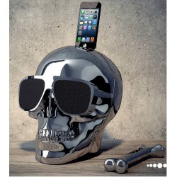 Speaker AeroSkull HD more Jarre Technologies Crome black