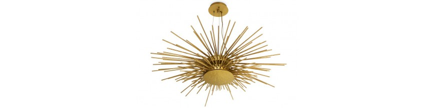 Light fixtures, lamps, suspension and chandeliers Design